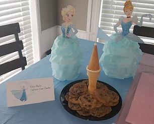 Elsa Cinderella Elsas Magical Cookies