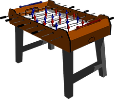 Foosball Table Clipart png
