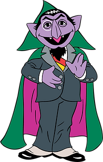 The Count Sesame St Clipart