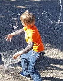 Wire Basket Bubbles 2