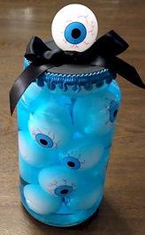 Eyeball Halloween Jar