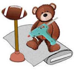 Crafting Mascot Bear