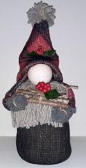 Red Plaid Christmas Gnome