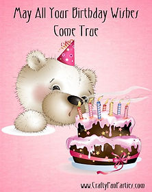 Birthday Wishes Bear Meme