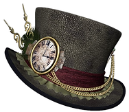 Steampunk Hat Clipart PNG