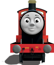 Thomas And Friends James Clipart png