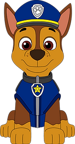 Paw Patrol Chase Clipart