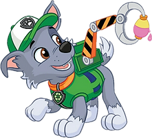 Paw Patrol Rocky Clipart 2 png