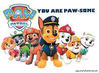 Paw Patrol Card Box PDF