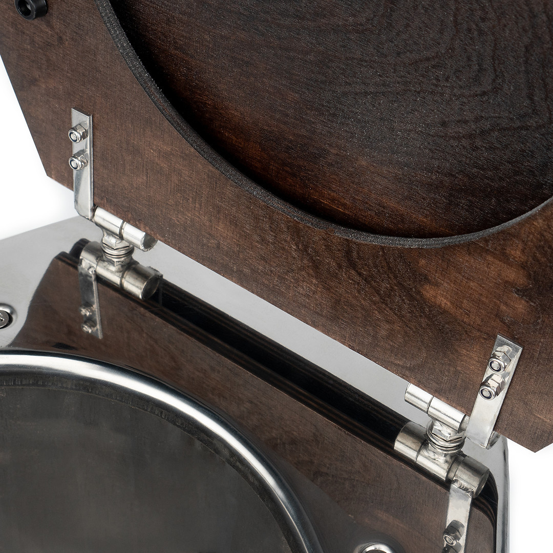 нержавеющий надежный крепеж кольча и крышки