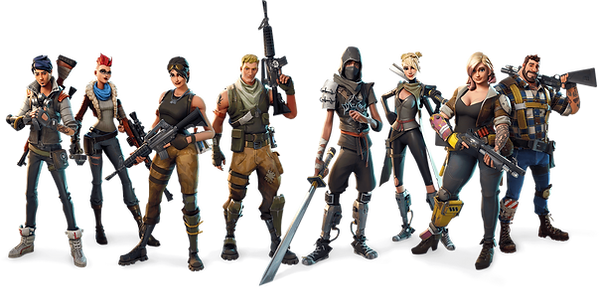 Fortnite Character Clipart png