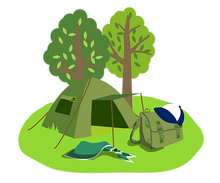 Scout Camping Clipart