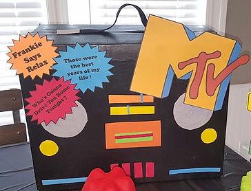 80s Theme Boom Box