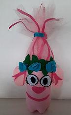 Trolls Poppie Pop Bottle Craft