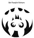 Bat Pumpkin Pattern