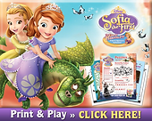 Sophia the First Curse Of Princess Ivy Activity Pages
