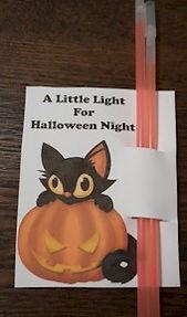 Halloween Night Light Treat