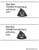 Toilet Paper Thanks PDF