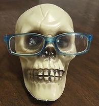 Skull Eye Glasses Holder