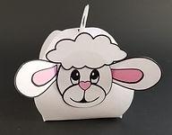Curvy Keepsake Box Lamb
