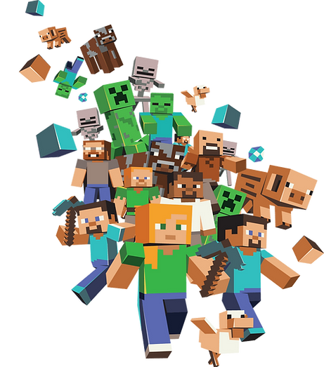 Minecraft Clipart png