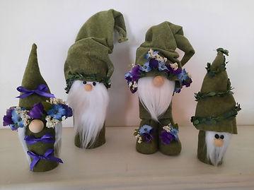 Spring Gnomes from Pill Bottles