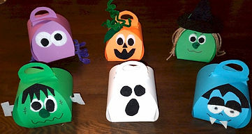 Halloween Curvy Keepsake Boxes
