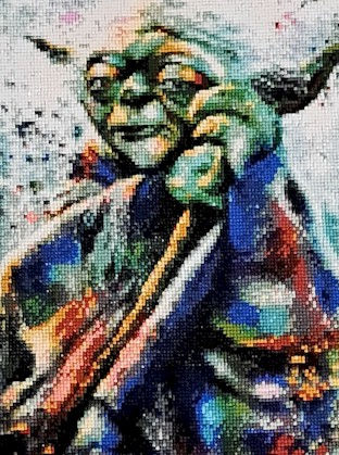 Yoda Diamond Painting Star Wars