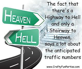 Heaven Hell Traffic Meme jpg
