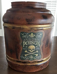 Rum Barrel DIY Craft