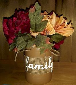 Fall Mason Jar Floral Arrangement
