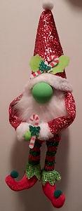 Large Hanging Festive Gnome