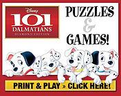 101 Dalatians Print and Play Activities