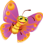 Cute Butterfly 01 png