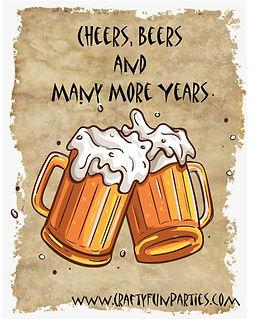 Cheers Beers Years Meme