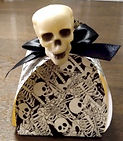 Skeleton Curvy Keepsake Box