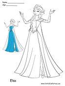 Color Elsa