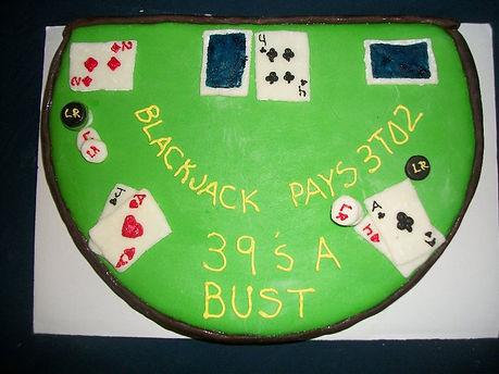 Blackjack Table Cake jpg