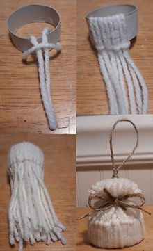 How To Make Stocking Cap Ornament