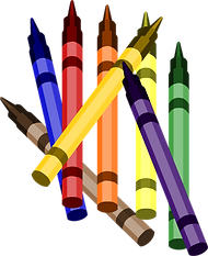 Crayons Clipart png