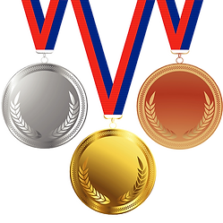 Olympic Medals Clipart png