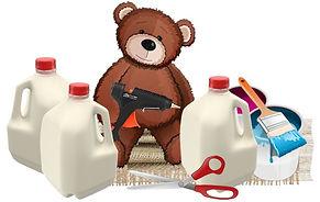 Milk Jug Crafts
