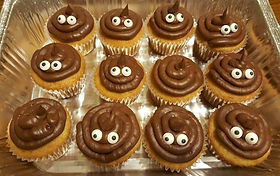 Poop Cupcakes Emoji