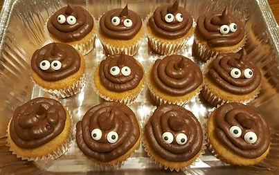 Poop Cupcakes