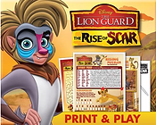 Lion Guard Print and Play