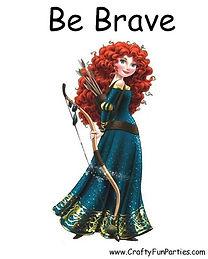 Be Brave Meme