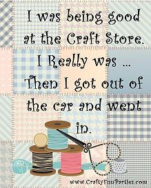 Craft Store Car Meme