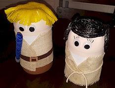 Star Wars Luke Skywalker and Princess Leia Pop Bottle CraftsPopLukeLeia.jpg