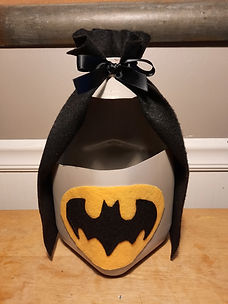 Batman Milk Jug Craft