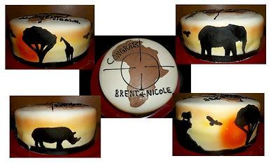 Africa Safari Cake
